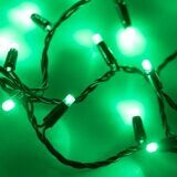 Светодиодная гирлянда ARD-STRING-CLASSIC-10000-BLACK-100LED-STD GREEN (230V, 7W)